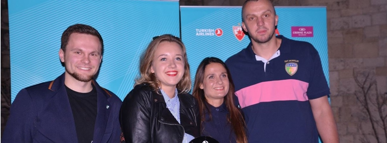 Zalgiris Kaunas honored as inaugural One Team award winner
