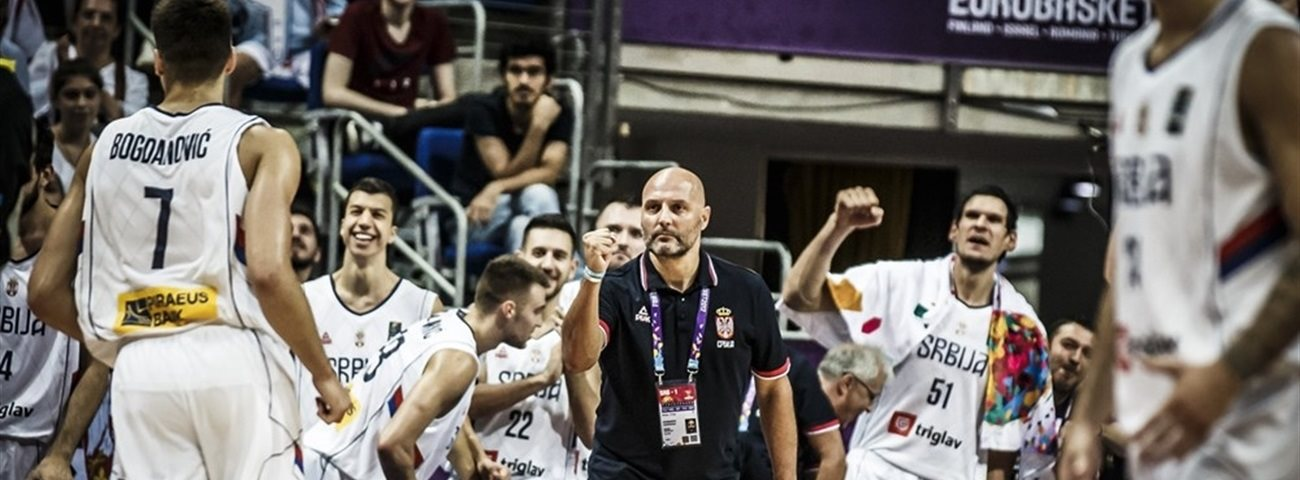 Vladimir Stankovic at EuroBasket 2017: Slovenia vs. Serbia, a finals first