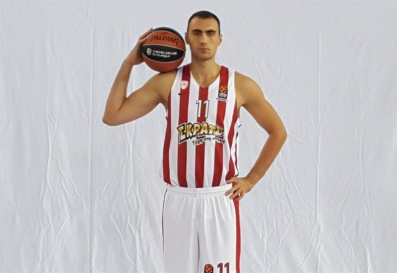 Nikola Milutinov - Olympiacos Piraeus Media day 2017 - EB17