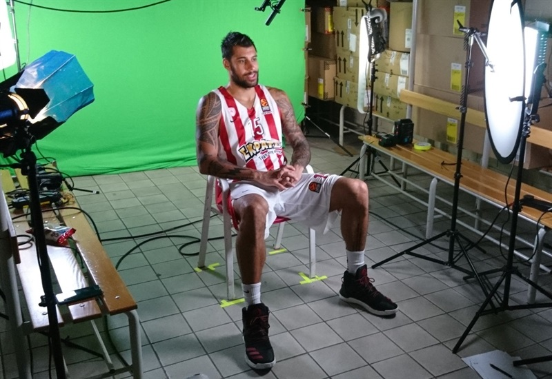 Georgios Printezis - Olympiacos Piraeus Media day 2017 - EB17