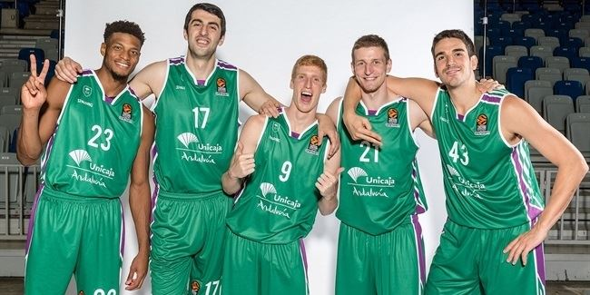 2017 Media Day Live: Unicaja Malaga
