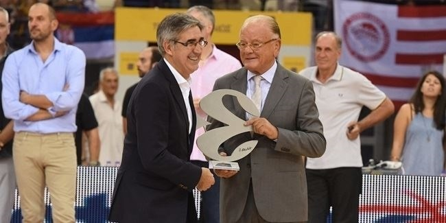 European basketball celebrates Coach Ivkovic's legendary career!