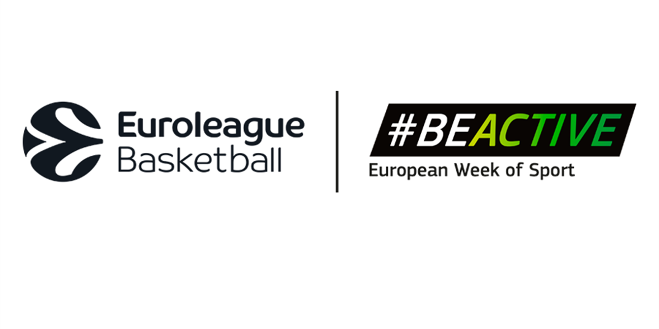 Euroleague Basketball promotes healthy living by backing European Week of Sport campaign
