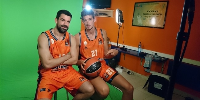 2017-18 Media Day: Valencia Basket
