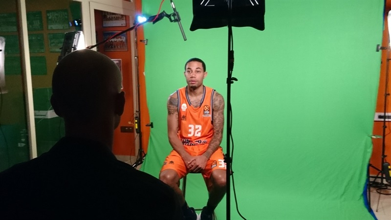 Erick Green - Valencia Basket Media Day 2017 - EB17