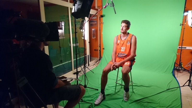 Tibor Pleiss - Valencia Basket Media Day 2017 - EB17