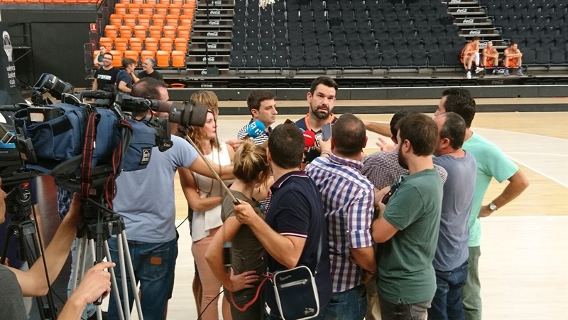 Rafa Martinez - Valencia Basket Media Day 2017 - EB17