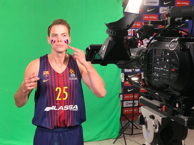 Petteri Kopponen - FC Barcelona Lassa Media Day 2017 (photo FC Barcelona) - EB17