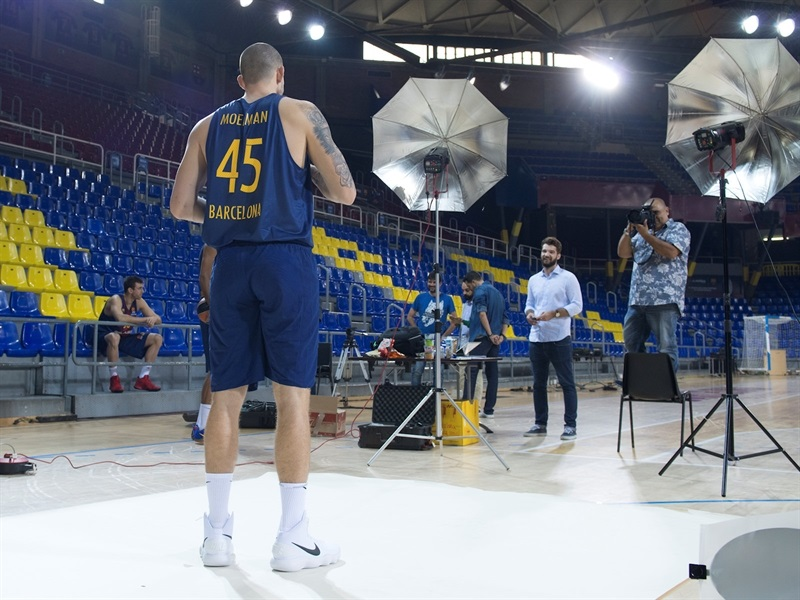 Adrien Moerman - FC Barcelona Lassa Media Day 2017 (photo FC Barcelona) - EB17