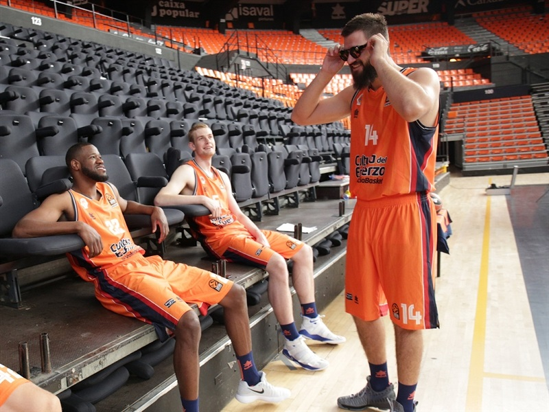 Bojan Dubljevic - Valencia Basket Media Day 2017 - EB17