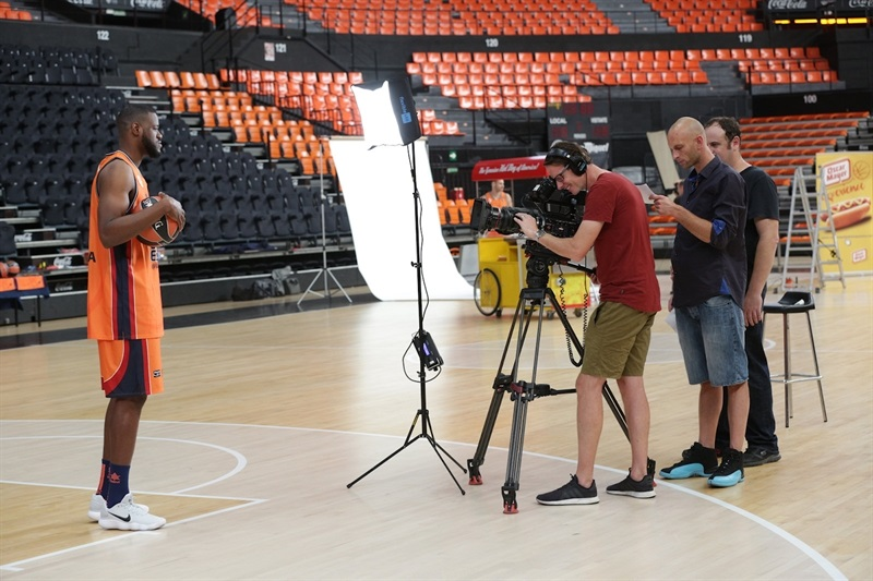 Latavious Williams - Valencia Basket Media Day 2017 - EB17