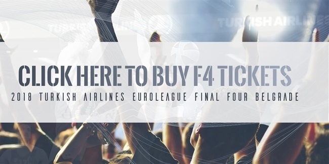 2018 Final Four Belgrade tickets are on sale!