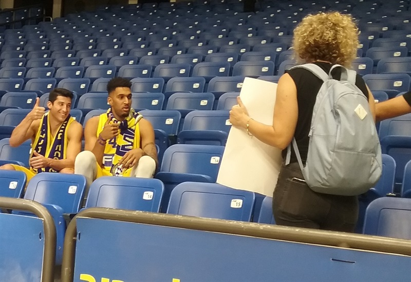 Maccabi FOX Tel Aviv Media Day 2017 - EB17