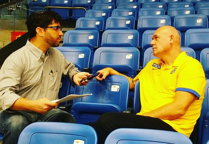 Neven Spahija - Maccabi FOX Tel Aviv Media Day 2017 - EB17