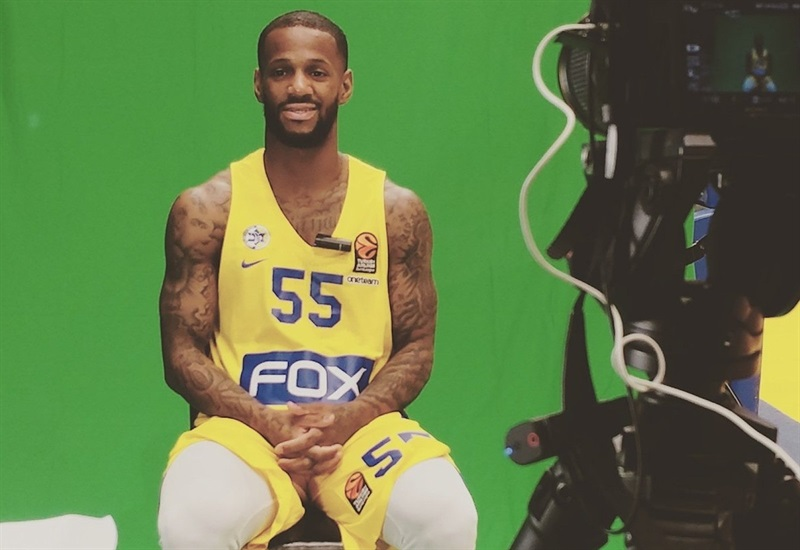 Pierre Jackson - Maccabi FOX Tel Aviv Media Day 2017 - EB17
