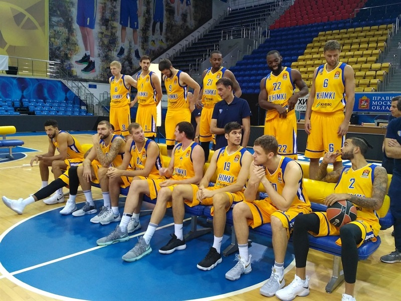 Khimki Moscow Region Media Day 2017 (photo Khimki) - EB17
