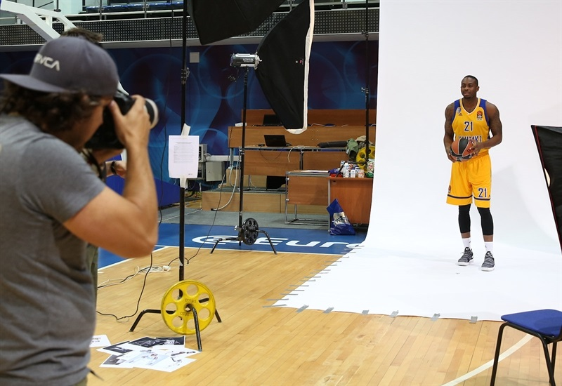 James Anderson - Khimki Moscow Region Media day 2017 - EB17