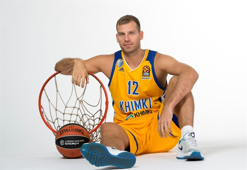 Sergey Monia - Khimki Moscow Region Media day 2017 - EB17