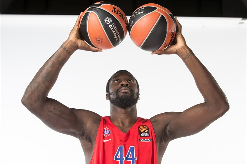 Othello Hunter - CSKA Moscow Media Day 2017 - EB17