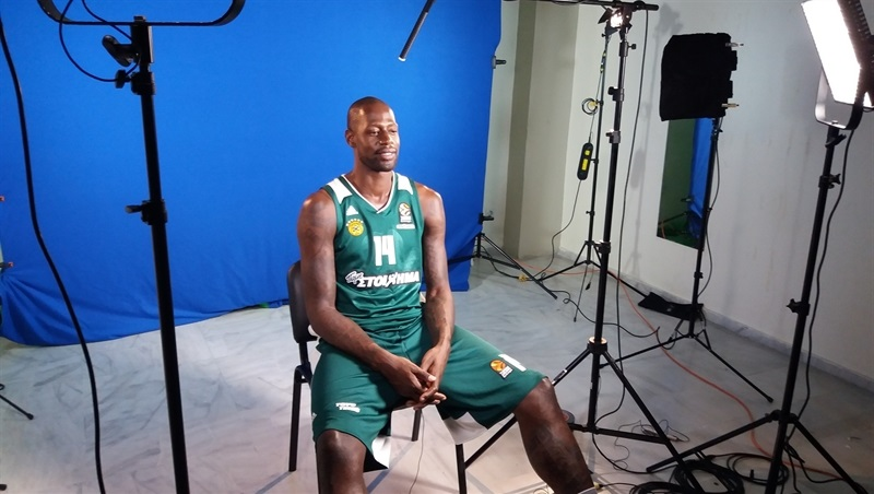 James Gist - Panathinaikos Superfoods Athens MediaDay17