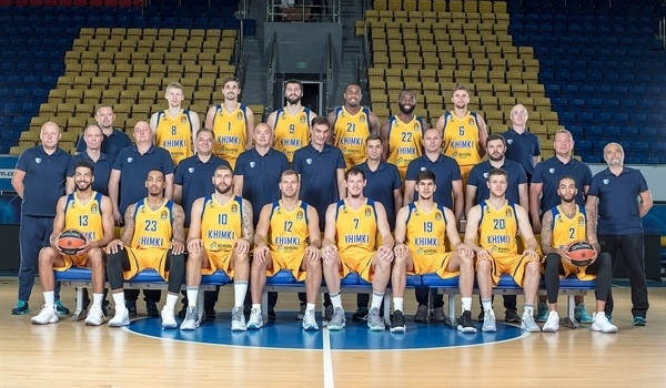 2017-18 Team Preview: Khimki Moscow region