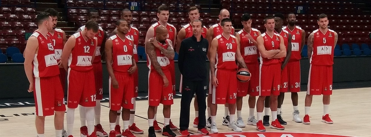 2017 Media Day Live: AX Armani Exchange Olimpia Milan