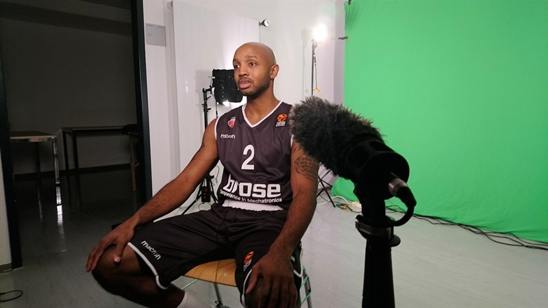 Ricky Hickman - Brose Bamberg Media Day 2017 - EB17