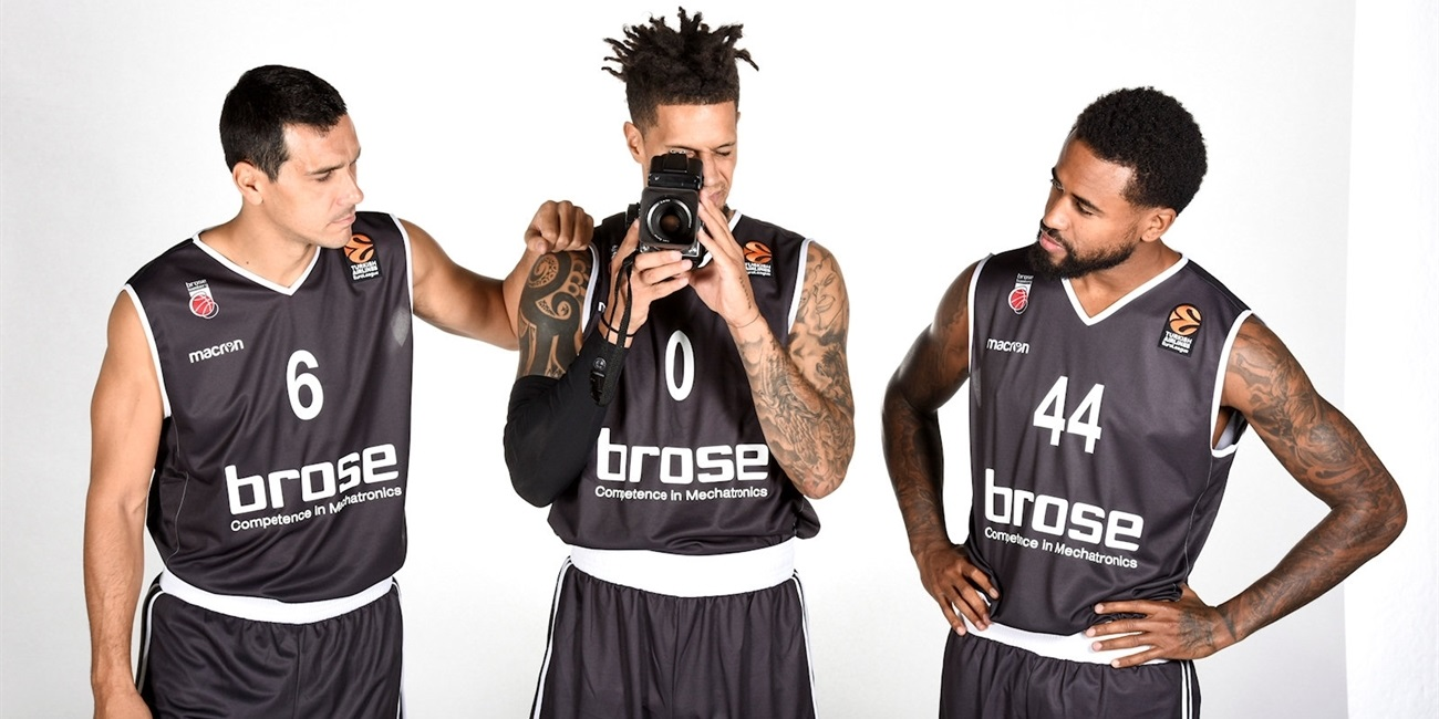 2017 Media Day Live: Brose Bamberg
