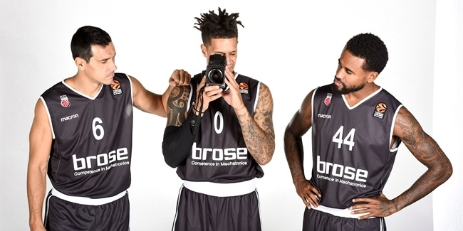2017-18 Media Day: Brose Bamberg