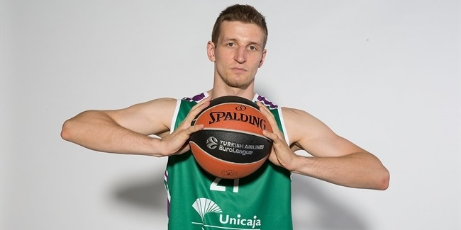 Adam Waczynski, Unicaja: 'Travel is sometimes like practice'