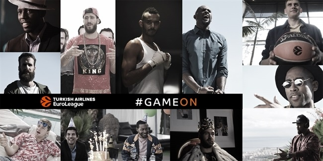 GAME ON! EuroLeague stars present new season with original video clip and song