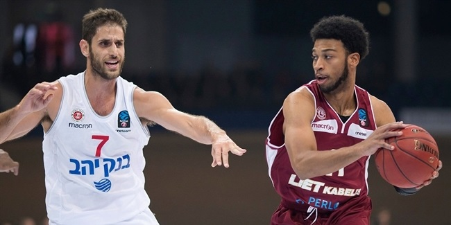 7DAYS EuroCup, Regular season, Round 1: Lietkabelis Panevezys vs. Hapoel Jerusalem