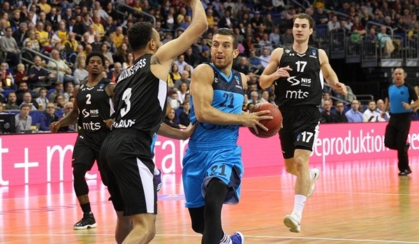 RS Round 1 report: Butterfield leads ALBA to blowout of Partizan