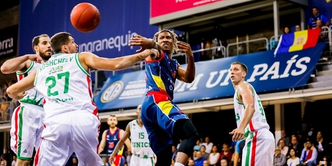 7DAYS EuroCup, Regular season, Round 1: Morabanc Andorra vs. Unics Kazan