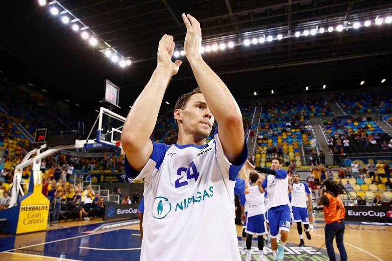 Kyle Kuric return Gran Canaria - Zenit St Petersburg (photo Gran Canaria) - EC17