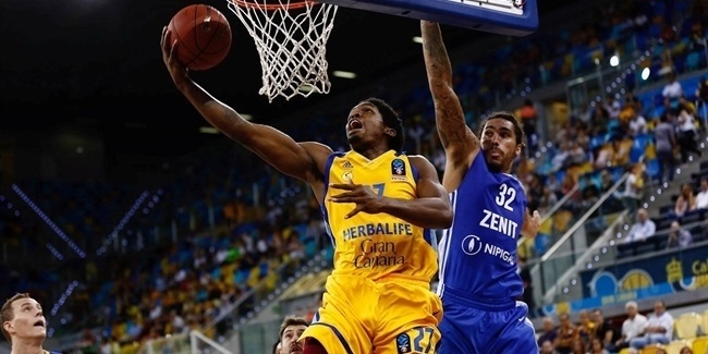 7DAYS EuroCup, Regular season, Round 1: Herbalife Gran Canaria vs. Zenit St Petersburg