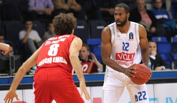 RS Round 1 report: Versatile Gibson gives Budocnost opening-night win over Reggio Emilia