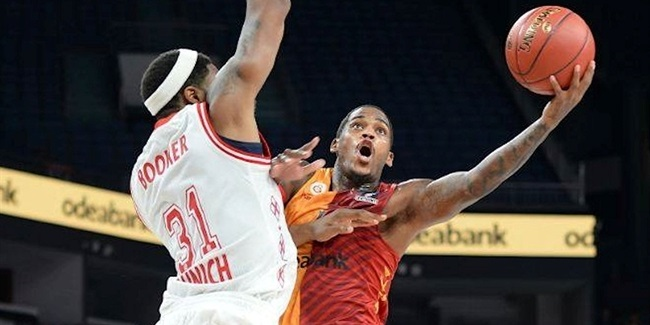 7DAYS EuroCup, Regular season, Round 1: Galatasaray Odeabank Istanbul vs. FC Bayern Munich
