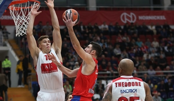 RS Round 1 report: CSKA rallies past AX Milan for its 10th straight home win
