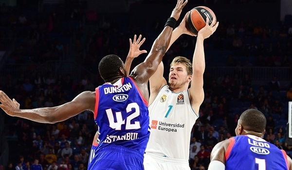RS Round 1 report: Doncic's career-high leads Madrid over Efes