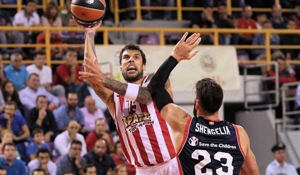 RS Round 1 report: Printezis leads Olympiacos past Baskonia