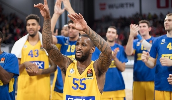 RS Round 1 report: Jackson stars in Maccabi win in Bamberg