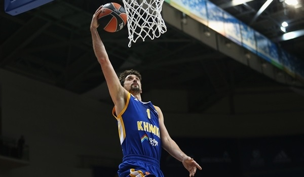 RS Round 1 report: Shved, Robinson pace Khimki past Valencia