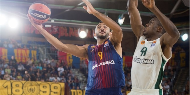 RS Round 1: FC Barcelona Lassa vs. Panathinaikos Superfoods Athens