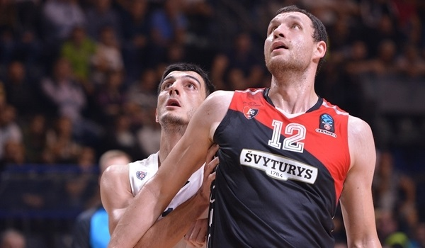 Regular Season, Round 2: Mavrokefalidis, Baron fuel Rytas to victory in Belgrade