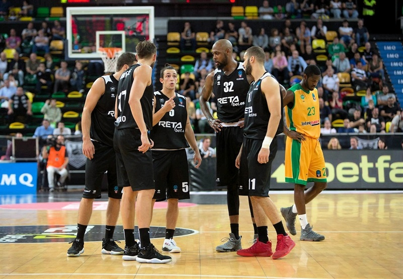 Players RETABet Bilbao Basket (photo Bilbao) - EC17