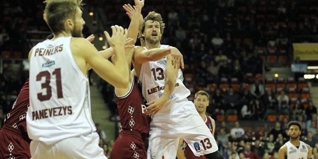 7DAYS EuroCup, Regular season, Round 2: FC Bayern Munich vs. Lietkabelis Panevezys