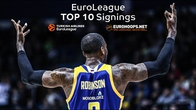The Top 10 Turkish Airlines EuroLeague signings for 2017-18