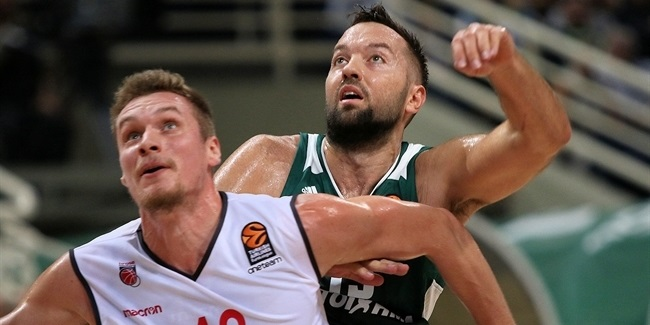 RS Round 2: Panathinaikos Superfoods Athens vs. Brose Bamberg