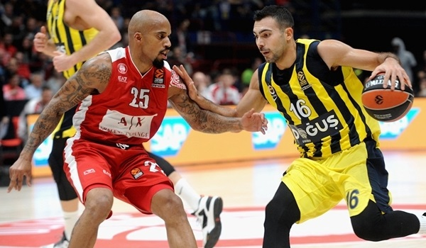 RS Round 2 report: Sloukas shines as Fenerbahce claims overtime win in Milan